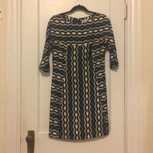 Patterned Milly dress, Size 6